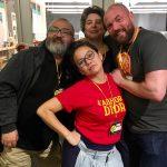 Gengoroh Tagame, Jennifer Camper, Justin Hall, Anne Ishii. Q&C 2017, SF.