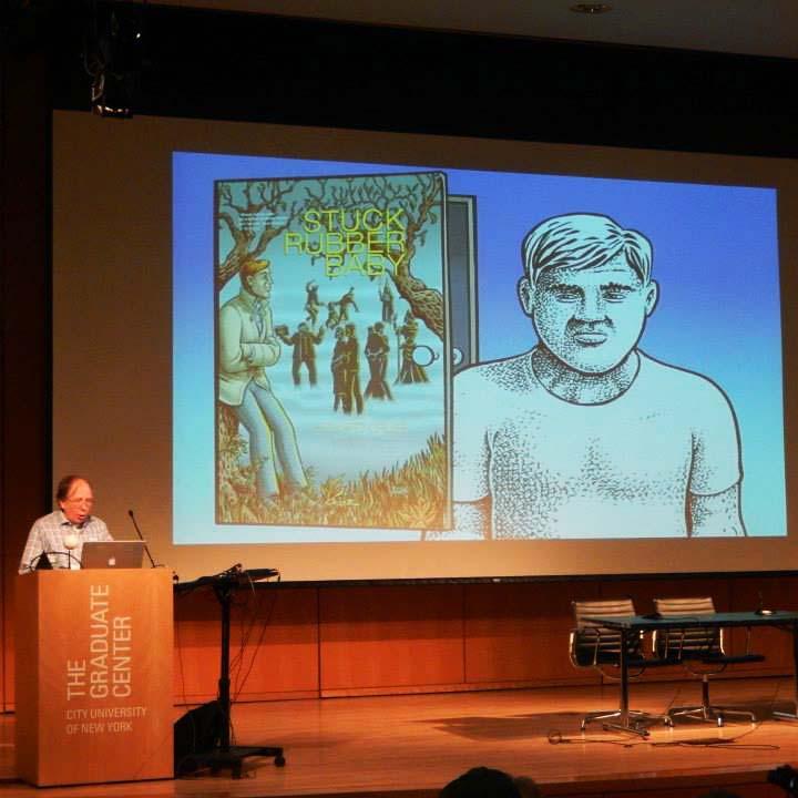 Howard Cruse, Keynote Presentation. Q&C 2015, NYC.