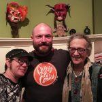 Dylan Edwards, Justin Hall, Rachel Pollack. Q&C 2017, SF