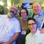 Gengoroh Tagame, Anne Ishii, Howard Cruse, Alison Bechdel. Q&C 2015 NYC.
