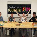 Book Signings. Q&C 2017, SF