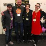 Matt Silady, Justin Hall, Jennifer Camper, Maya Lawrence: Organizers. Q&C 2017, SF.