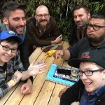 Cartoonists Lunch, Q&C 2017, SF