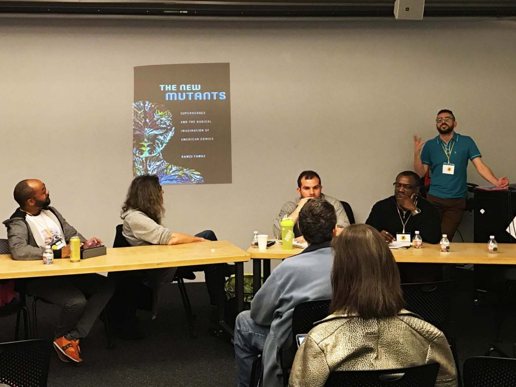 Queer About Comics: Working at the Intersection of Queer Theory and Comics Studies. andré carrington, Susan Stryker, Anthony Michael D'Agostino, Darieck Scott, Ramzi Fawaz. Q&C 2017, SF