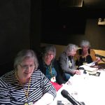 Diana Green, Roberta Gregory, Trina Robbins, Mary Wings. Q&C 2017, SF