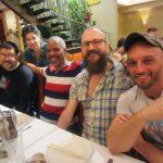 Ivan Velez, Jennifer Camper, Victor Hodge, Tony Breed, Phil Jimenez. Q&C 2015, NYC.