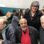 Howard Cruse, Burton Clarke, Roberta Gregory, Robert Triptow. Q&C 2017, SF